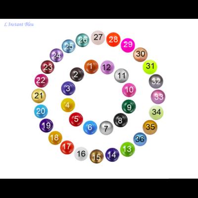 Bola de couleur  pour  «Appeleur d'Ange» - 3 dimensions