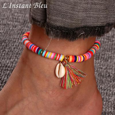Bracelet de Cheville Bohème «Darśhana» Esprit libre