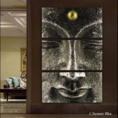 Tableau Triptyque «Ajna Chakra»
