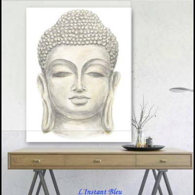 Tableau «Bouddha Quiétude» sur toile