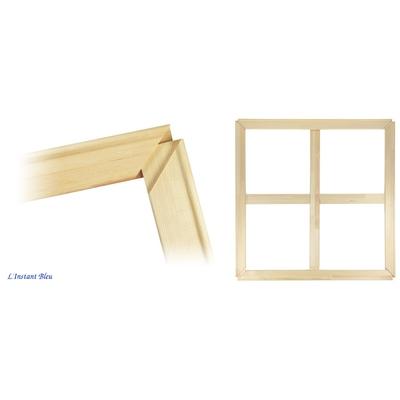 Châssis nus en bois facile à monter pour Toile de Tableau