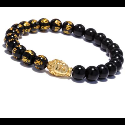 "Bracelet bouddhiste ""Black Boddhisattva"""