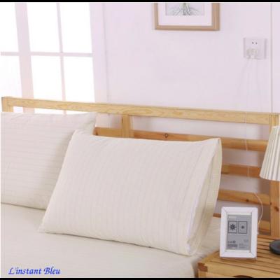 Taie d'oreiller de mise à la Terre en Coton naturel (50 x 75 cm)