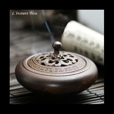 Brûleur d'Encens traditionnel en céramique «Shanti»