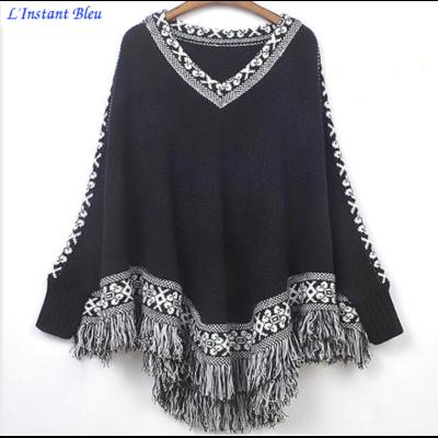 Pullover Poncho Style Boho «Anoki»
