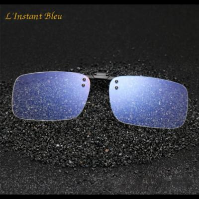 Surlunettes clipsables et relevables anti-lumière bleue «Goa»