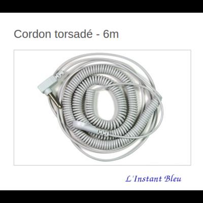 Cordon torsadé «Earthing» 6m