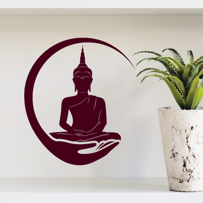 Sticker mural «Bouddha Śākyamuni»