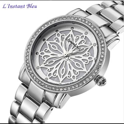 Montre casual « Nirvāṇa» Fleur intemporelle