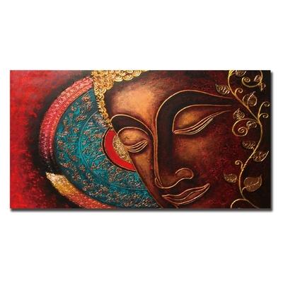 Toile pour Tableau «Bouddha Mandala»