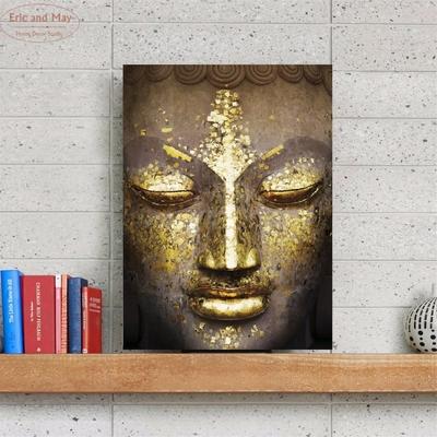 Toile pour Tableau «Bouddha Lumièredorée» - 4 dimensions