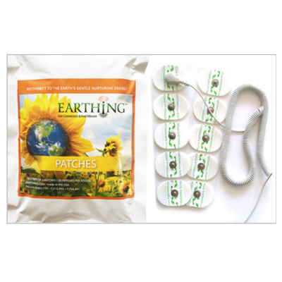 Kit Patches « Earthing » de mise à la Terre