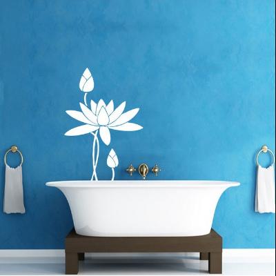 Sticker mural «Kamālā Fleur de Lotus »