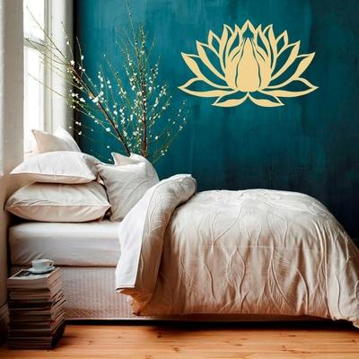 Grand Sticker mural «Sahasrāra»Lotus aux mille pétales