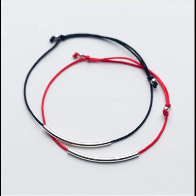 Bracelet et Cordon de Cheville Bohème « Sāmaṇā» Esprit libre en Corde et Argent Sterling