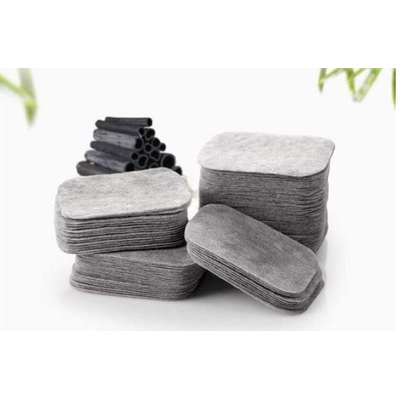 Boîte de 200 Lingettes démaquillantes Anti-bactériennes, en Coton et fibres de Bambou