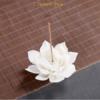 Porte Encens «Kāmāla » Fleur de Lotus en Céramique-3.1