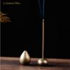 Porte Encens en laiton doré pour Brûleur-15