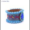 Bracelet Boho «Vishākhā » Esprit lumineux en Cuir végan-3.1