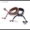 Bracelet Ethnique « Dakṣā » Esprit Bohème en Cuir végan-1.1