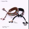 Bracelet Ethnique « Dakṣā » Esprit Bohème en Cuir végan-6.1