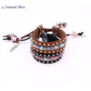 Bracelet Ethnique « Dakṣā » Esprit Bohème en Cuir végan-7.1