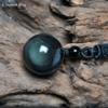 Pendentif Ethnique «Garuḍa » en Obsidienne Arc-en-ciel-2.3
