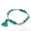 2020-nouveau-printemps-boh-me-bleu-mer-plage-amiti-Bracelets-Boho-gland-bracelet-breloques-perles-de