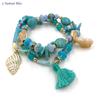 Bracelet Bohème « Tārānātha » Esprit libre – Charms et Coquillages-1.1