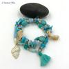Bracelet Bohème « Tārānātha » Esprit libre – Charms et Coquillages-3.1