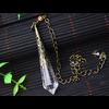 Pendule de soin énergétique «Wicca» en Quartz clair-8