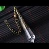 Pendule de soin énergétique «Wicca» en Quartz clair-10