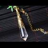 Pendule de soin énergétique «Wicca» en Quartz clair-11