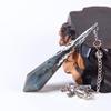 Pendule de soin énergétique «Wicca»en Labradorite-1