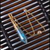 Pendule de soin énergétique «Wicca»en Labradorite-8