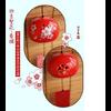 Cloche traditionnelle Feng Shui En Céramique «Dōrje»-21