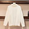 Pull chenille « Manā » Chaleur et Confort-Blanc-1