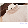 Pull chenille « Manā » Chaleur et Confort-Gris clair 2.1