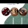 «Sḥabdā» Double Bracelet bohème en Grenat-7