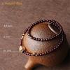 «Sḥabdā» Double Bracelet bohème en Grenat-5