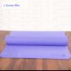 Tapis de Yoga Lotus - Mauve