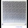 Echarpe imprimée Léopard Bleue en Coton «Dhāraṇā»-5