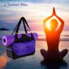 Sac à Tapis de Yoga imperméable de grande capacité «Nandi»-Améthyste-yoga