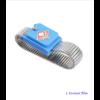 Bracelet pour mise à la Terre «Ganesh» en métal-Bleu 1