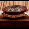 Montre Boho « Asha»» en Bois de Santal-Détail cadran