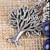 Bracelet Bohème «Akāra » Arbre de vie, en Lapis Lazuli-6