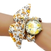 Shsby-mise-jour-femmes-robe-montre-dames-fleur-tissu-montre-Bracelet-haute-qualit-tissu-or-montre
