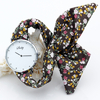 Shsby-marque-dame-fleur-tissu-montre-Bracelet-strass-argent-femmes-robe-montre-de-haute-qualit-tissu