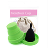 Coupe menstruelle Noire en Silicone de qualité médicale-2