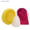 Coupe menstruelle Pastel en Silicone de qualité médicale + Boîte + Pochette-3.2